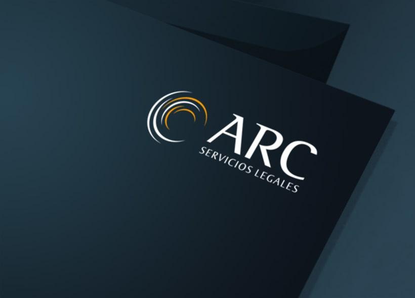 Diseño de logotipo para ARC Servicios Legales, un despacho asturiano formado por jóvenes abogados que ofrecen servicios de recuperación de deudas. -1