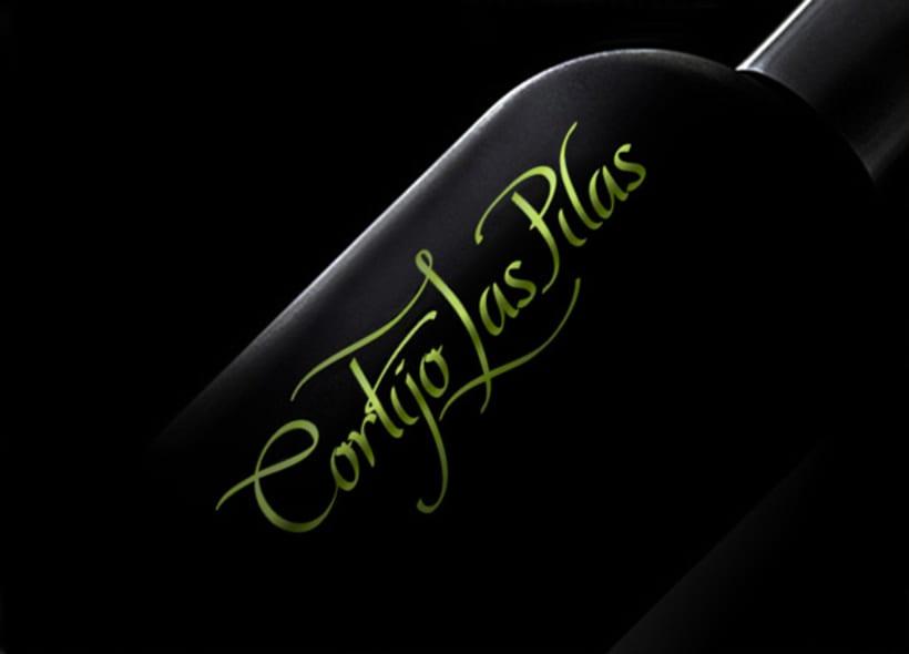 Diseño de imagen para Cortijo las Pilas, una empresa familiar que elabora y distribuye aceite de oliva de excelente calidad. -1