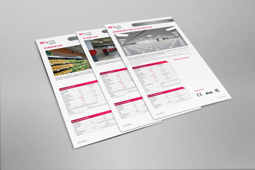 WeLink Energy / Datasheet Layout 2