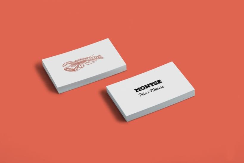 Montse Peixateria / Branding 2