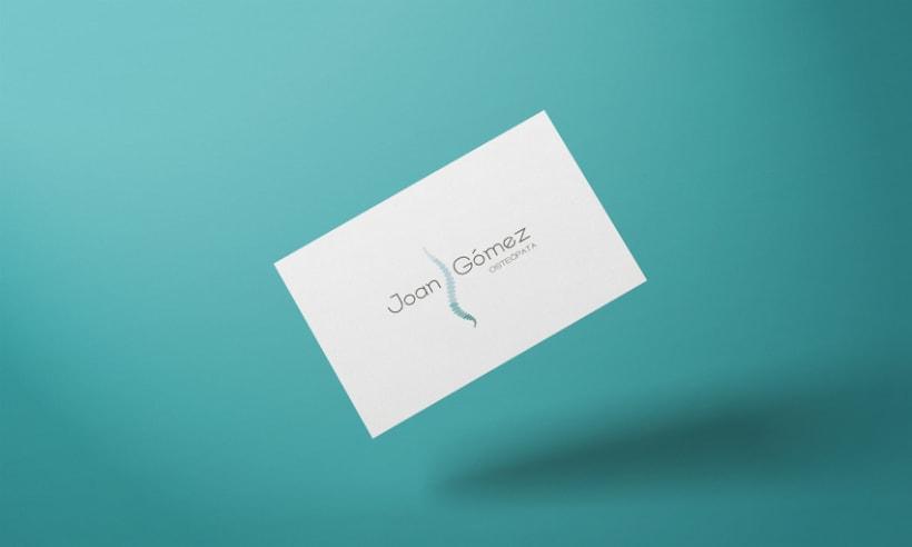 Joan Gómez Osteópata / Branding 3