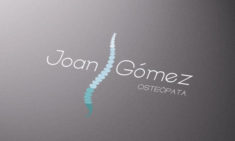 Joan Gómez Osteópata / Branding 5