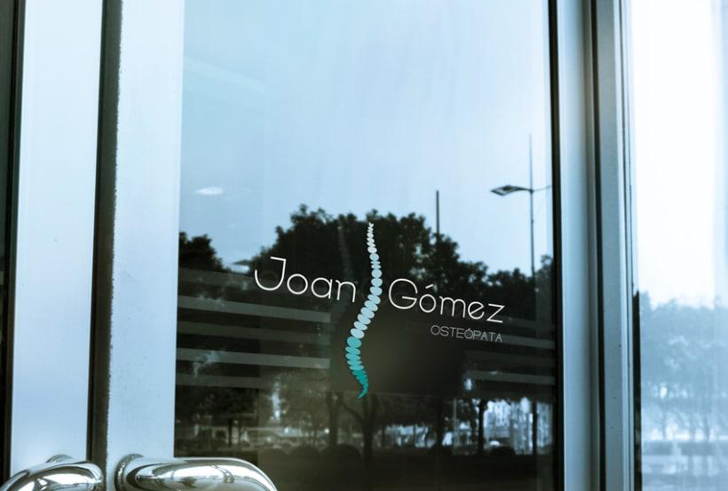 Joan Gómez Osteópata / Branding 6
