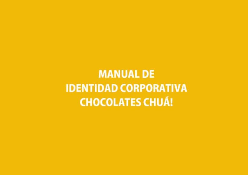 Marca gráfica chocolates Chuá! 2