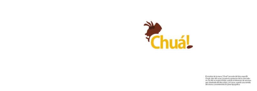 Marca gráfica chocolates Chuá! 3