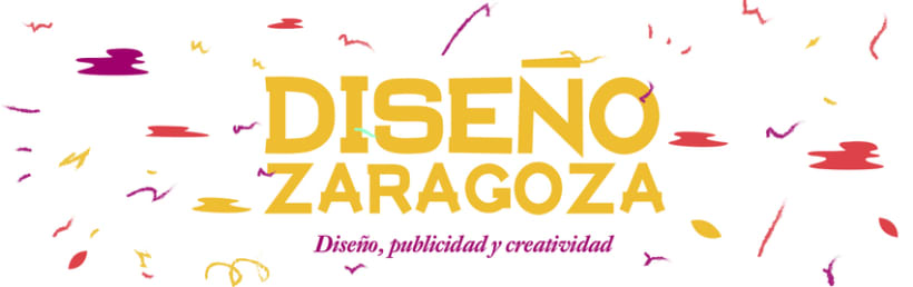 'Diseño Zaragoza' - Illustrated Banner 0