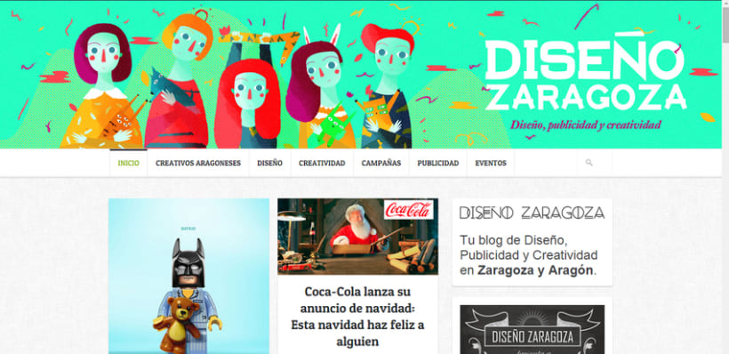 'Diseño Zaragoza' - Illustrated Banner 3
