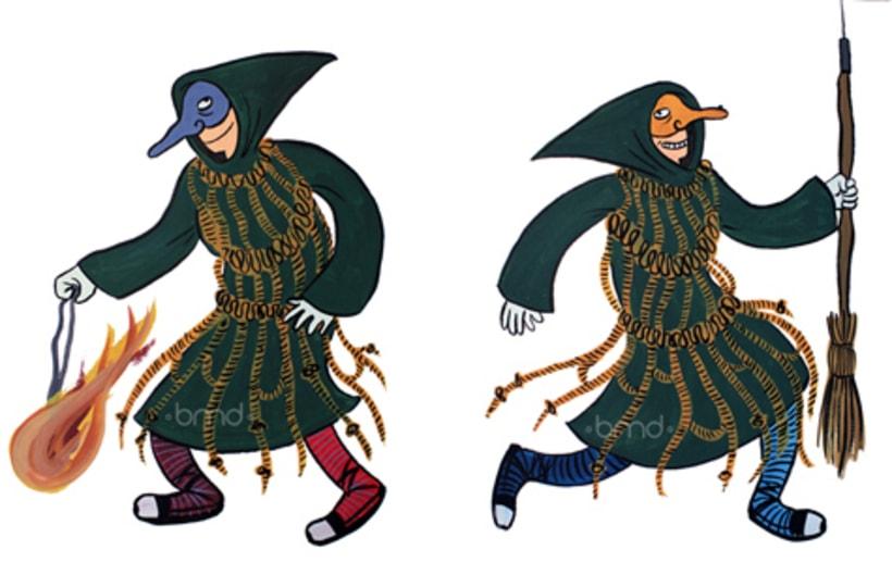 """Ilustraciones para la exposición """"Escaldàrium"""" 0"""
