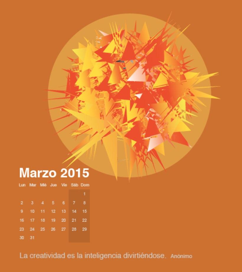 Calendario para mi escuela de meditación de la editorial Sereno 2