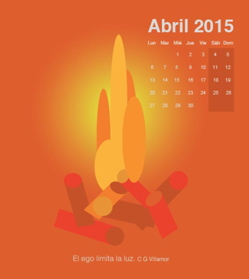 Calendario para mi escuela de meditación de la editorial Sereno 3