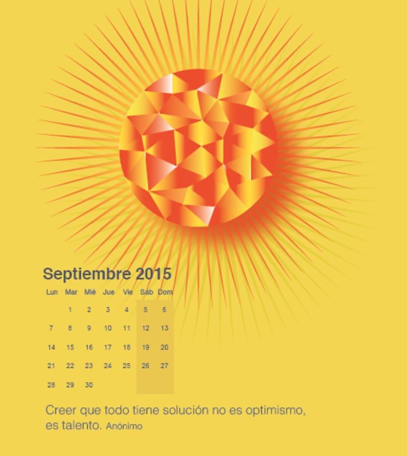 Calendario para mi escuela de meditación de la editorial Sereno 8
