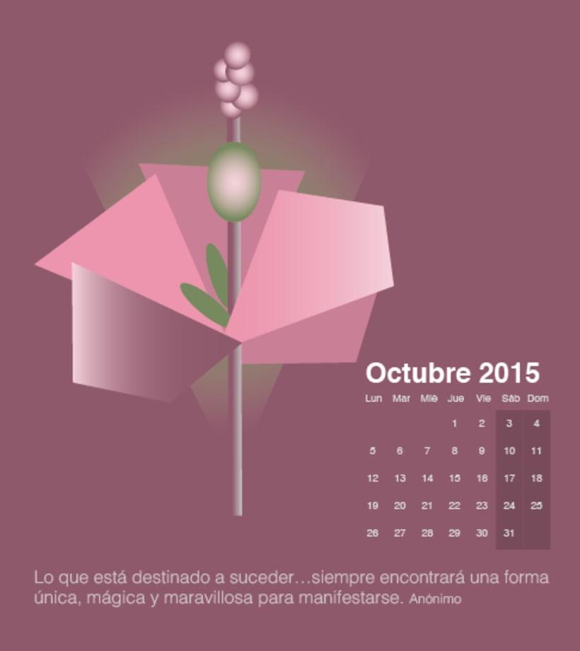 Calendario para mi escuela de meditación de la editorial Sereno 9