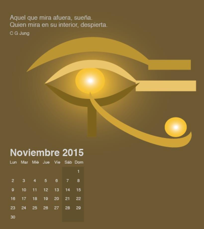 Calendario para mi escuela de meditación de la editorial Sereno 10