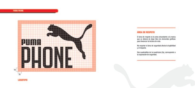 PUMA PHONE. Identidad corporativa y campaña publicitaria 13