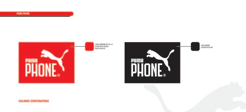 PUMA PHONE. Identidad corporativa y campaña publicitaria 19