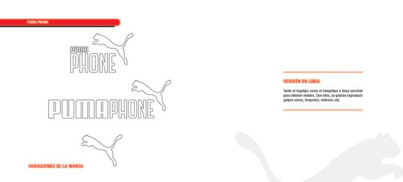 PUMA PHONE. Identidad corporativa y campaña publicitaria 27
