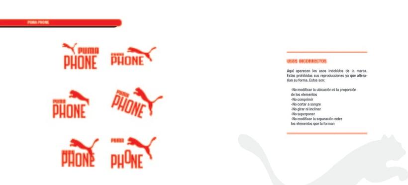 PUMA PHONE. Identidad corporativa y campaña publicitaria 29