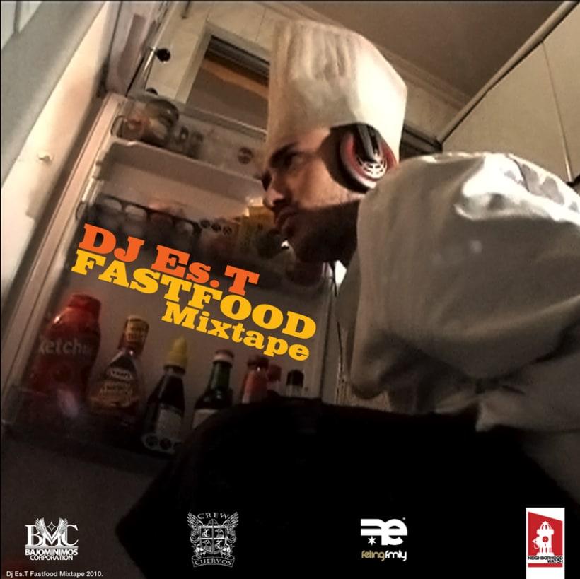 DJ Es.T - Fastfood Mixtape Covers 0