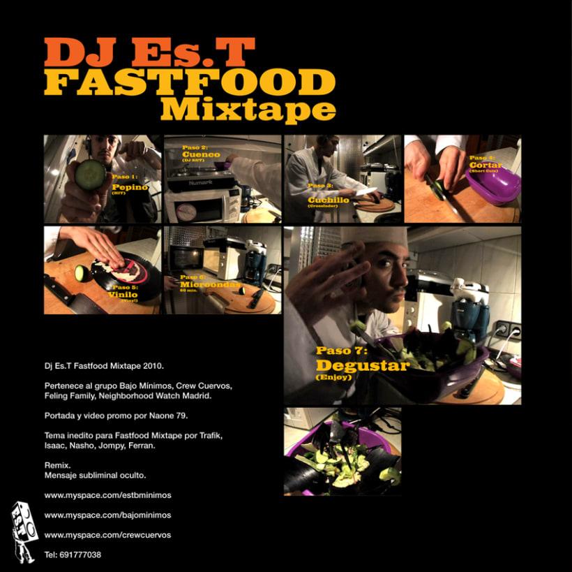 DJ Es.T - Fastfood Mixtape Covers 1