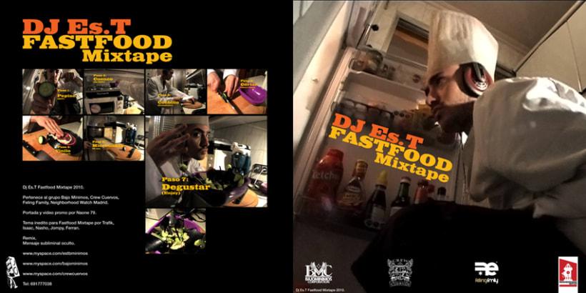 DJ Es.T - Fastfood Mixtape Covers 2