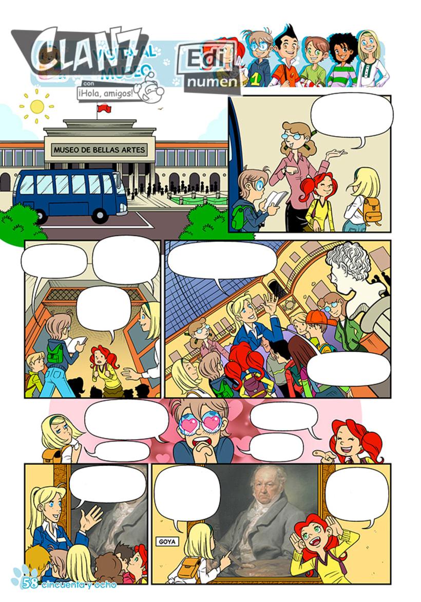 Clan 7 con ¡Hola, amigos! - Ed. Edinumen (Ilustración infantil) 0