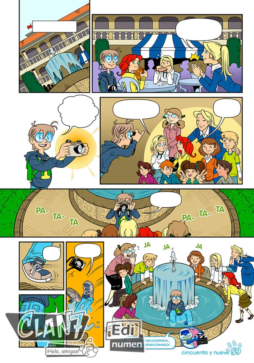 Clan 7 con ¡Hola, amigos! - Ed. Edinumen (Ilustración infantil) 1