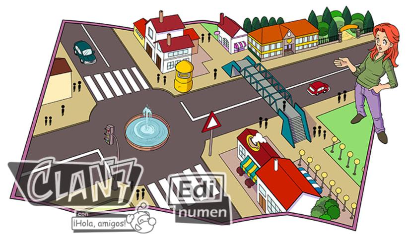Clan 7 con ¡Hola, amigos! - Ed. Edinumen (Ilustración infantil) 2