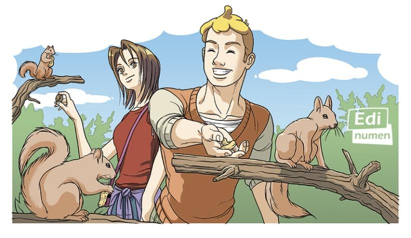 Un viaje sorpresa - Ed. Edinumen (Ilustración juvenil) 1