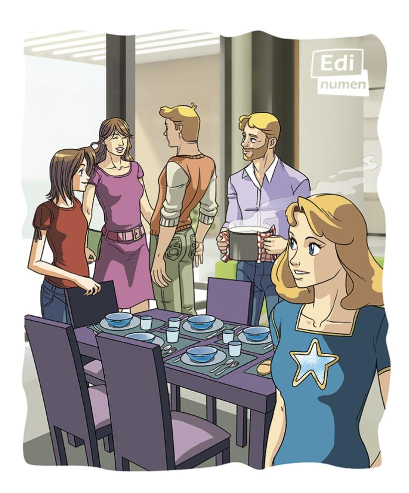 Un viaje sorpresa - Ed. Edinumen (Ilustración juvenil) 2