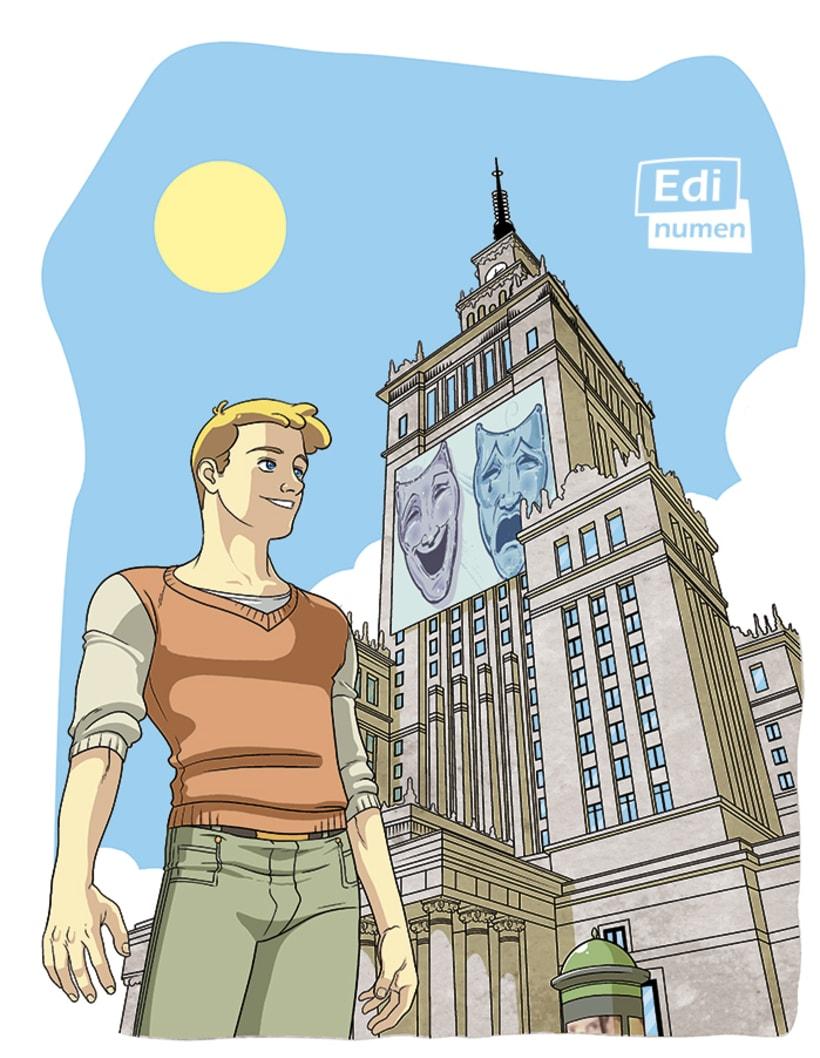 Un viaje sorpresa - Ed. Edinumen (Ilustración juvenil) 3