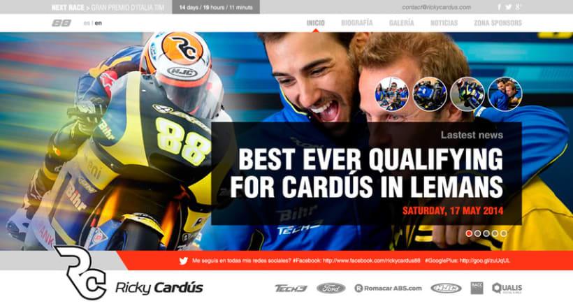 Ricky Cardús 2014 MotoGP rider 1