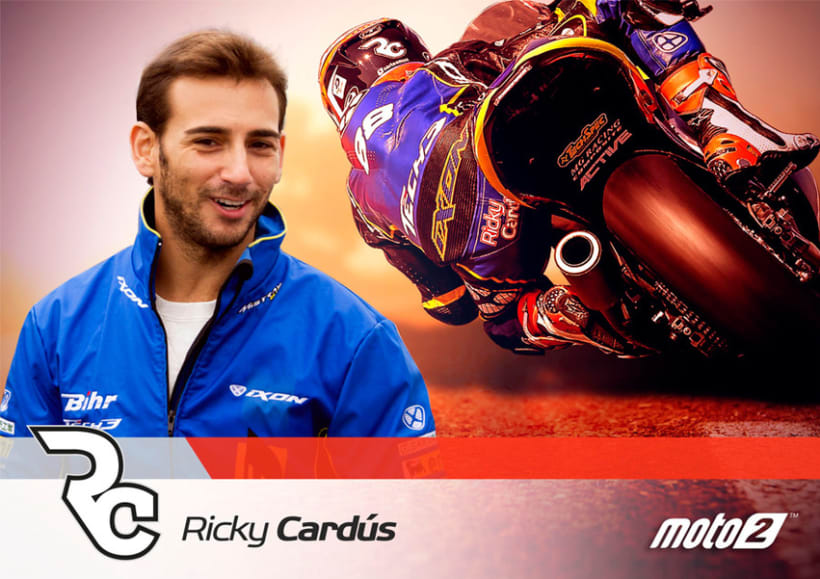 Ricky Cardús 2014 MotoGP rider 3