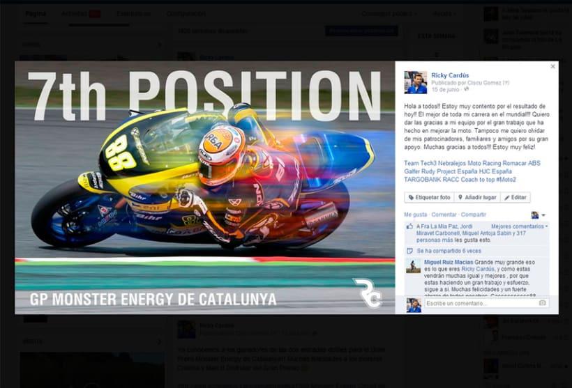 Ricky Cardús 2014 MotoGP rider 7