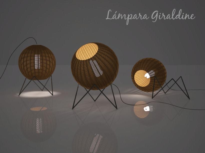Lámpara Giraldine 0