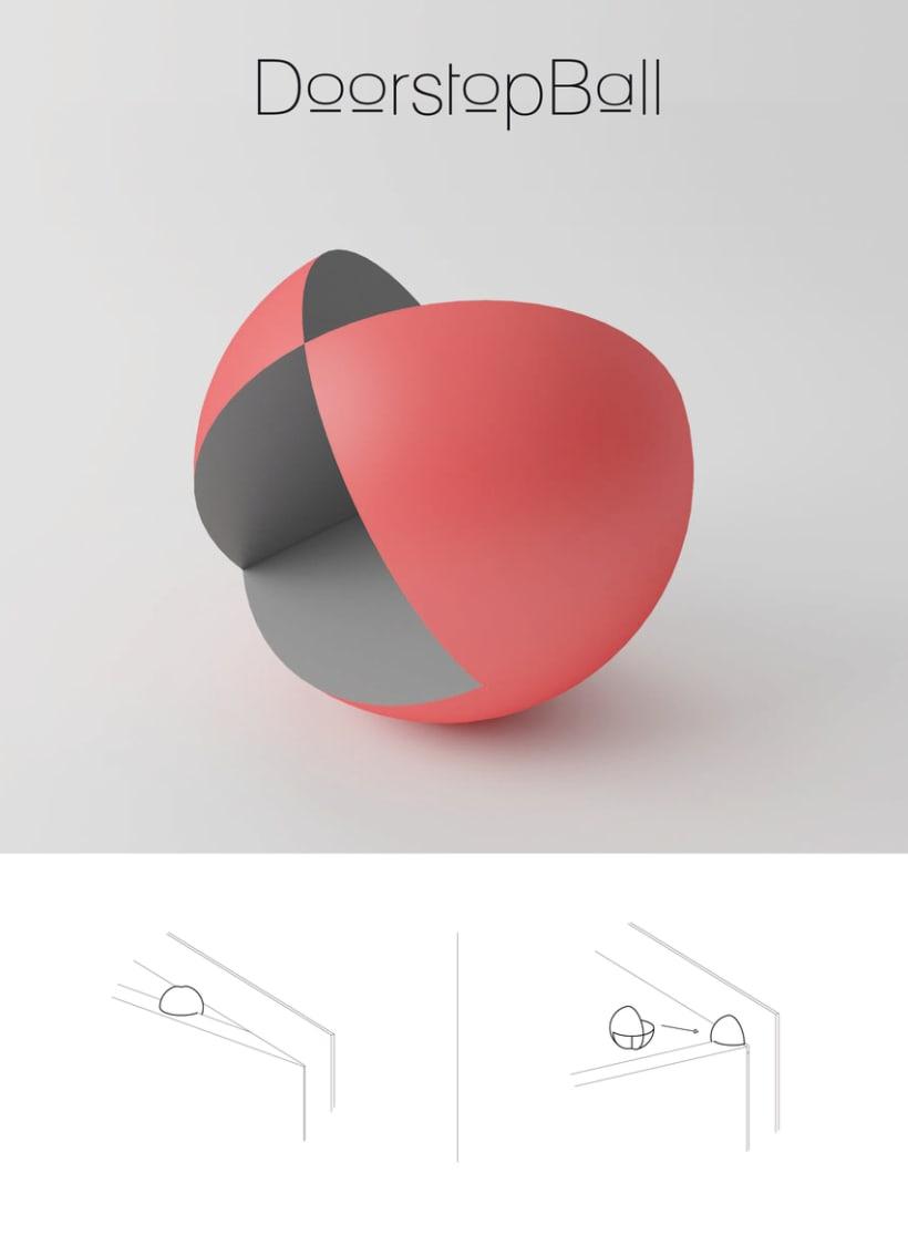 DoorStop Ball 0