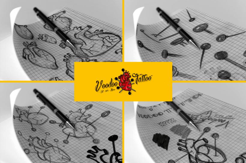 Imagen Corporativa de Voodoo Tattoo Haro 1