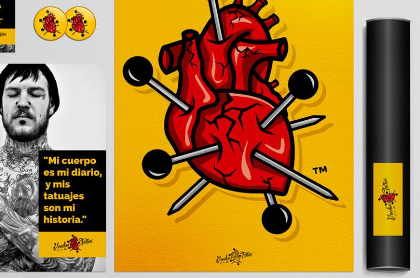 Imagen Corporativa de Voodoo Tattoo Haro 9