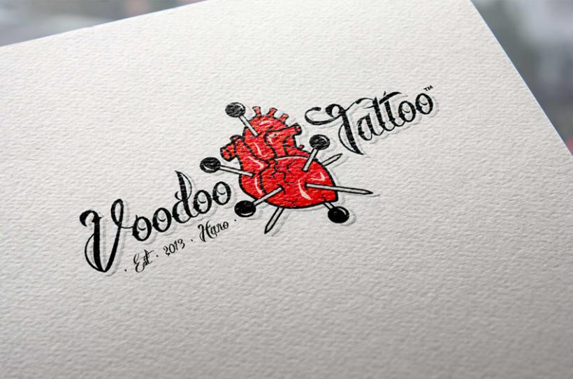 Imagen Corporativa de Voodoo Tattoo Haro 10