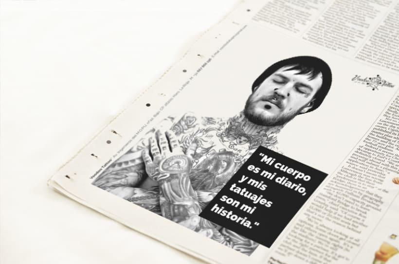 Imagen Corporativa de Voodoo Tattoo Haro 17