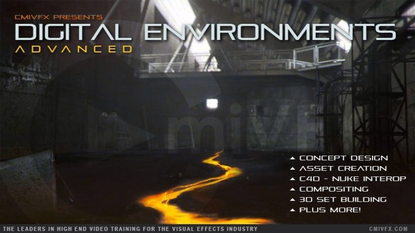 Advanced Digital Environments with NukeX and Cinema 4D 0