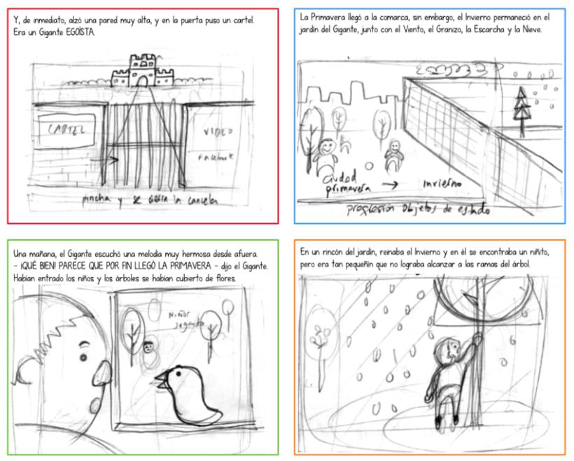 "Cuento infantil interactivo ""El Gigante Egoísta"" 1"