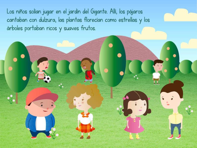 "Cuento infantil interactivo ""El Gigante Egoísta"" 7"