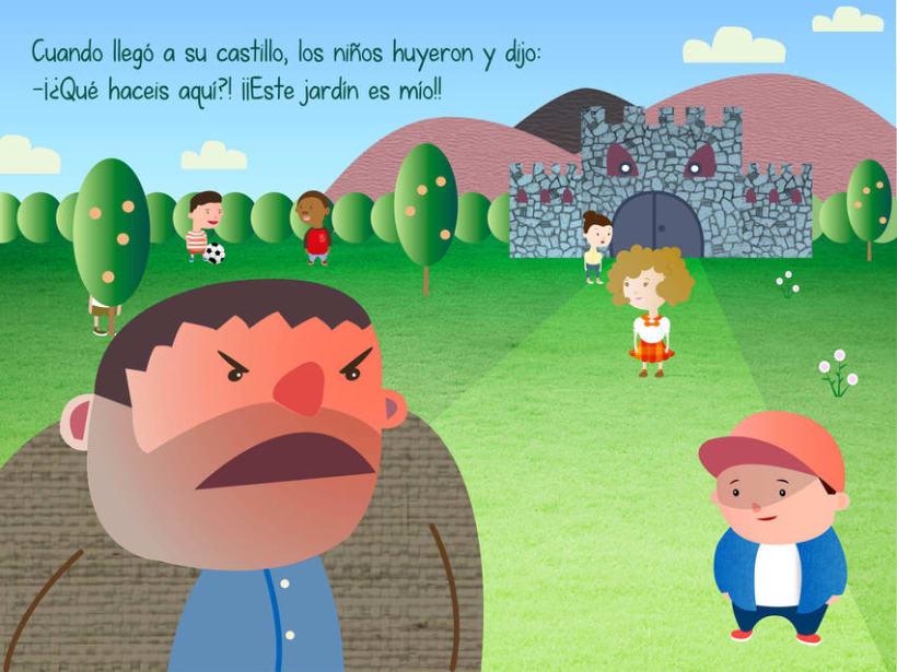 "Cuento infantil interactivo ""El Gigante Egoísta"" 8"