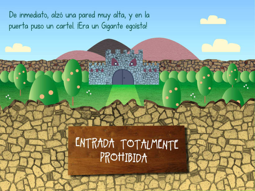 "Cuento infantil interactivo ""El Gigante Egoísta"" 9"