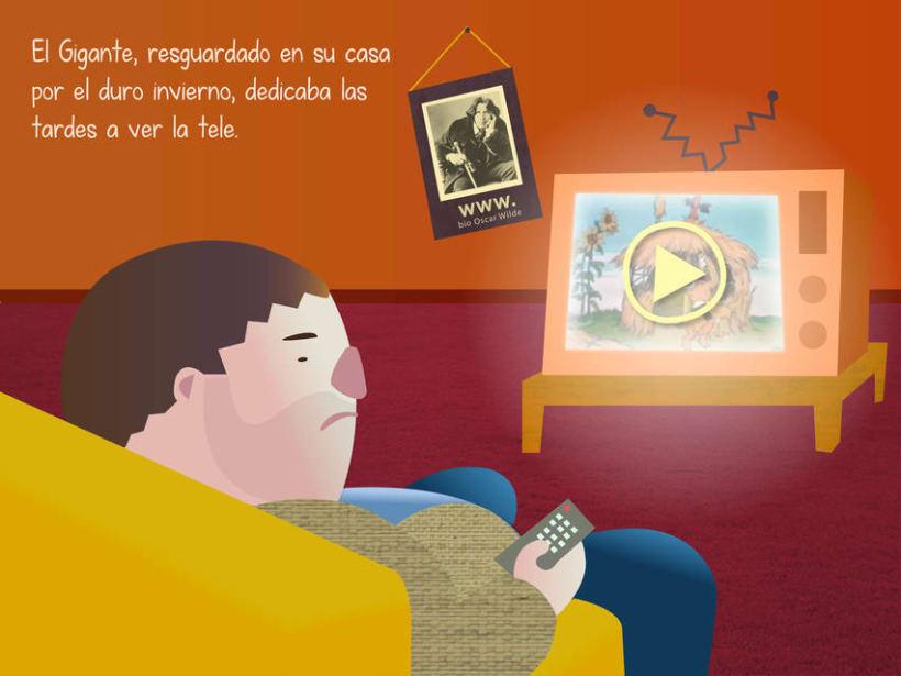 "Cuento infantil interactivo ""El Gigante Egoísta"" 11"