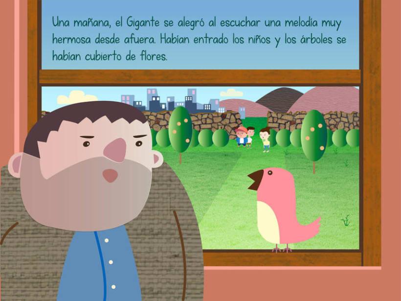 "Cuento infantil interactivo ""El Gigante Egoísta"" 13"