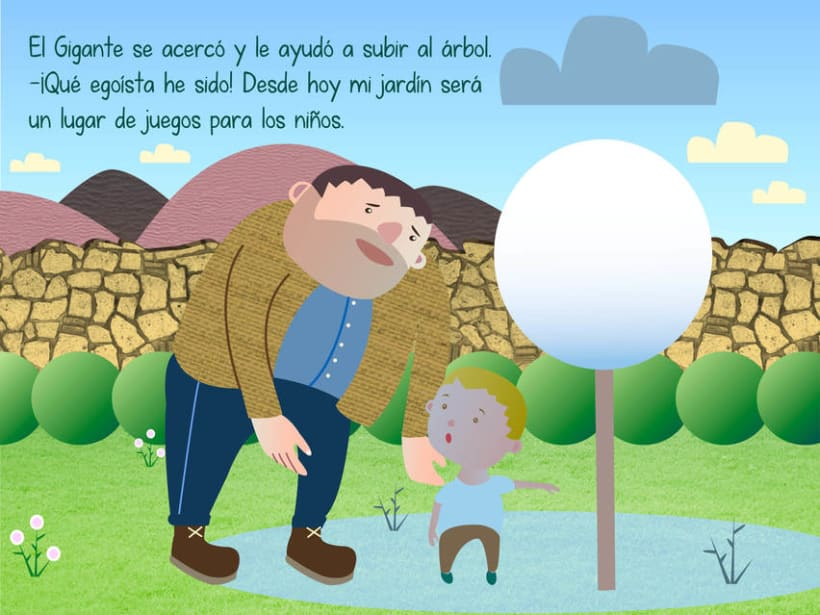 "Cuento infantil interactivo ""El Gigante Egoísta"" 15"