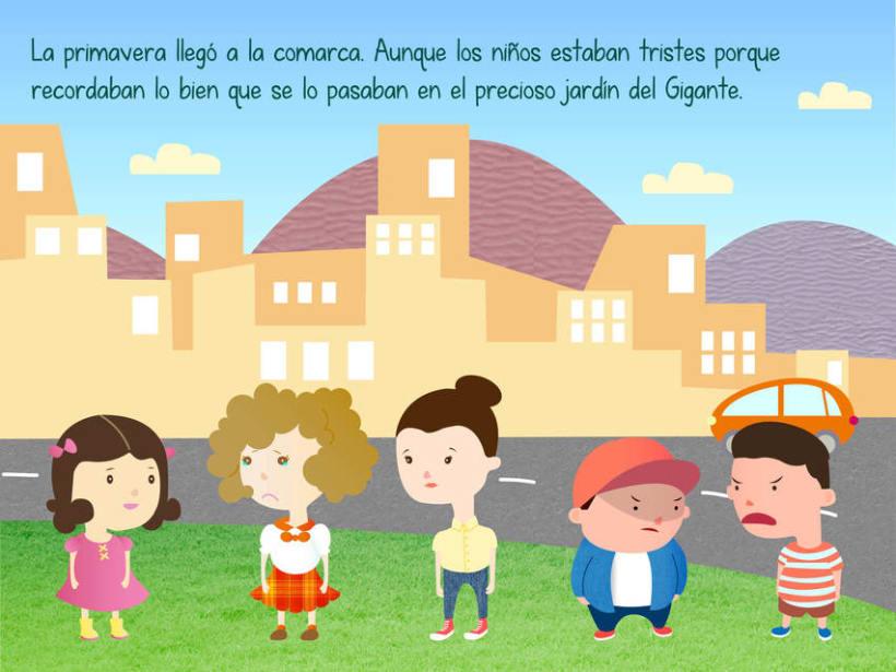 "Cuento infantil interactivo ""El Gigante Egoísta"" 12"