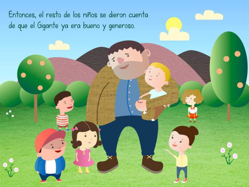 "Cuento infantil interactivo ""El Gigante Egoísta"" 18"