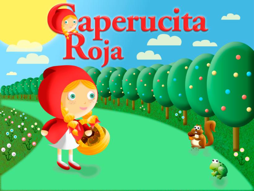 """Cuento infantil interactivo """"Caperucita Roja"""" 4"""